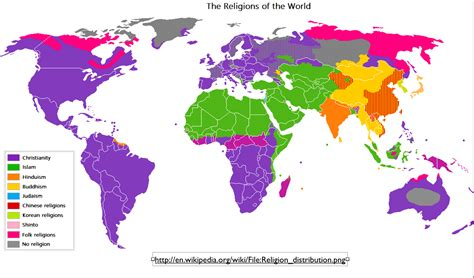 map world religions the difficulties of mapping world religions