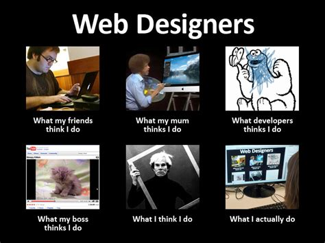 Designer Meme - top 7 misconceptions about web design alt creative