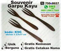 Set Sumpit Sendok Garpu Makan Keluarga Gagang Kayu Modern Authentic Ru sendok garpu murah souvenir souvenir pernikahan
