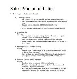 Promotion Letter To Your Sle Promotion Letter 15 Free Sles Exles Format