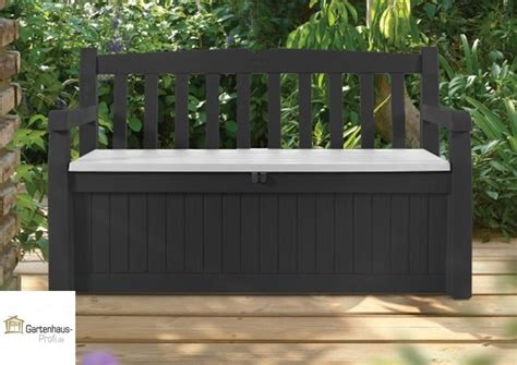 garten aufbewahrungsbox tepro kunststoff aufbewahrungsbox gartenbank garden bench