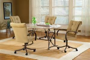 kitchen dining room sets kitchen kitchen chairs with casters chromcraft dinette chairs dining room chairs with wheels