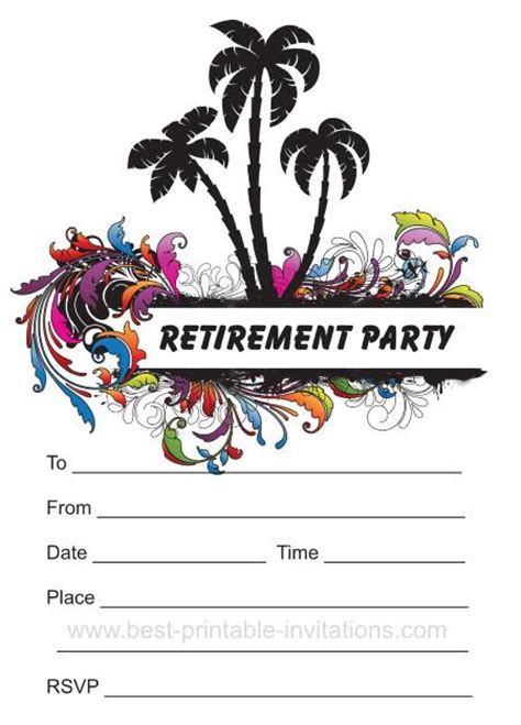 free printable retirement party decorations retirement party invitation free orderecigsjuice info