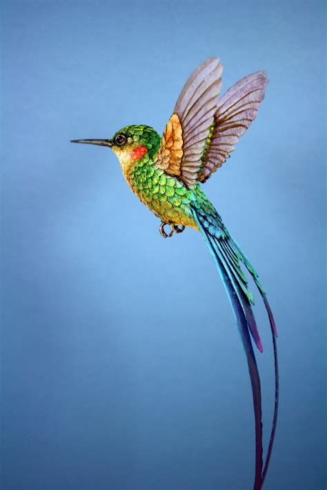 How To Make A Hummingbird Out Of Paper - paper hummingbird5 by zackmclaughlin on deviantart