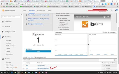 tutorial web analytics tutorial organic traffic dan pemecahan masalah not