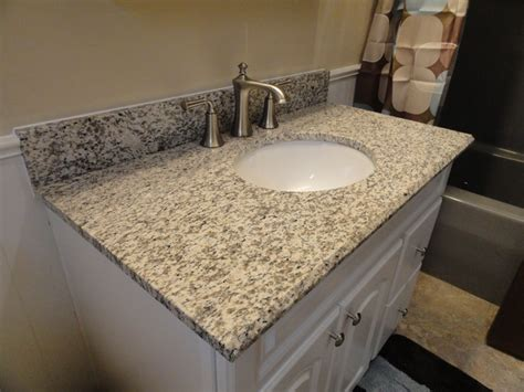 granite bathroom vanity countertops tiger skin granite vanity countertops traditional