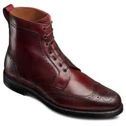 Allen Boots Allen Edmonds S Dalton Wingtip Dress Boots Ebay