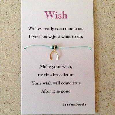 bracelet card template yang s jewelry wish bracelet charms card and