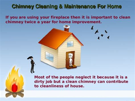 chimney cleaning maintenance for home