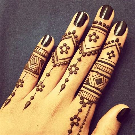 henna tattoo hand einfach arabic mehndi design for fingers top 10 picks of 2016