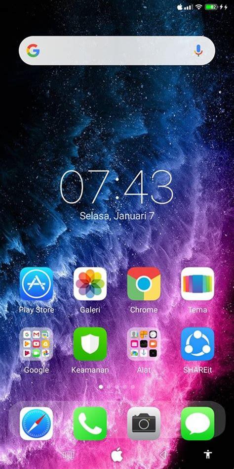 ubah tampilan xiaomi  iphone  pro rumah
