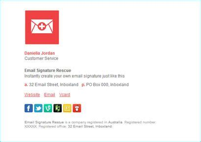 email signature layout ideas quot the business quot email signature made by email signature