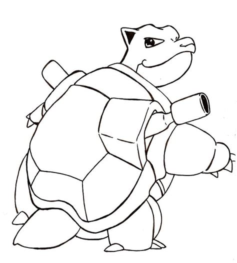 coloring pages pokemon blastoise drawings pokemon pokemon blastoise drawing images pokemon images