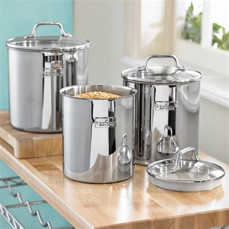Stainless Steel Kitchen Canisters Sets 78 Best Images About Stainless Steel Canister Sets On
