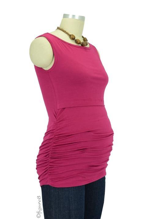 Baju Atasan Blouse Tunik White Stripe Roses S Import Original baju sleeveless boatneck nursing top in satin