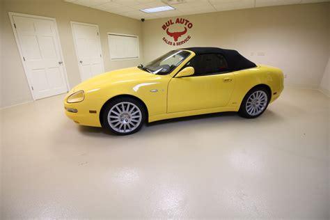 2003 Maserati Spyder Cambiocorsa by 2003 Maserati Spyder Cambiocorsa Stock 17202 For Sale