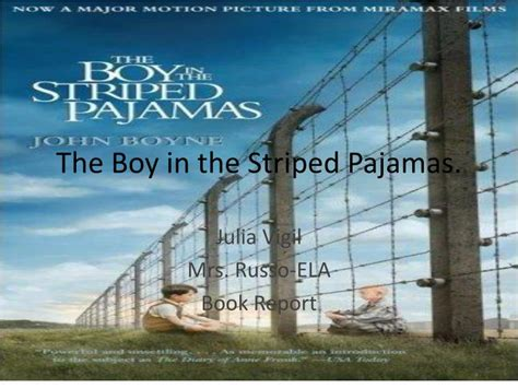 the boy in the striped pyjamas book report ppt the boy in the striped pajamas powerpoint