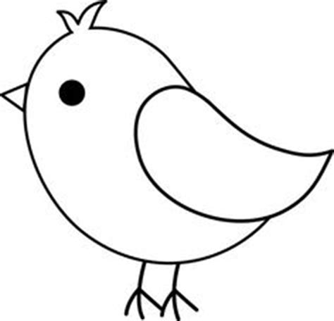 simple duck coloring page draw simple bird drawings nocturnal