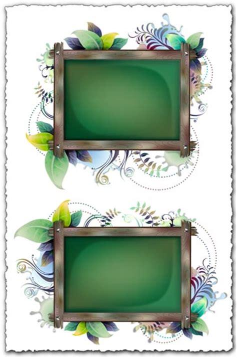 design photo frame online billboard with floral frames design