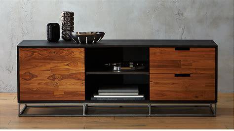 media credenza furniture congo modern media credenza reviews cb2