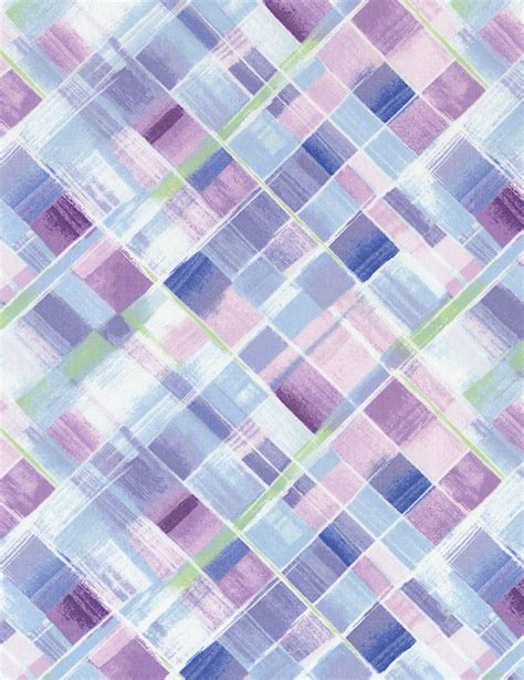 Logan Patchwork - bias plaid c5223 lilac logan s patchwork fabrics