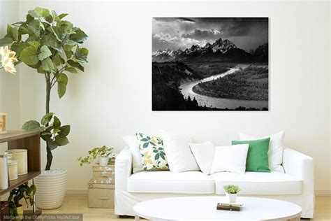 Wallapp Shows You What Your Photo Would Look As Wall Art In A Room Room Templates For Artists