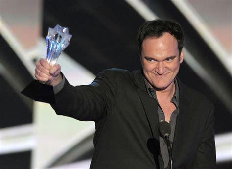 quentin tarantino film awards quentin tarantino in 15th annual critics choice movie