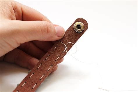 how to make leather jewelry leather bracelets for bead jewelry tutorial