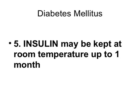 how can insulin be stored at room temperature nursereview org pharmacology endocrine drugs