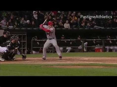 mike trout slow motion swing mike trout slow motion baseball swing hitting mechanics