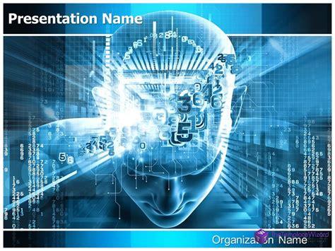 Digital Brain Powerpoint Presentation Template Thetemplatewizard Com Youtube Digital Smile Design Powerpoint Template