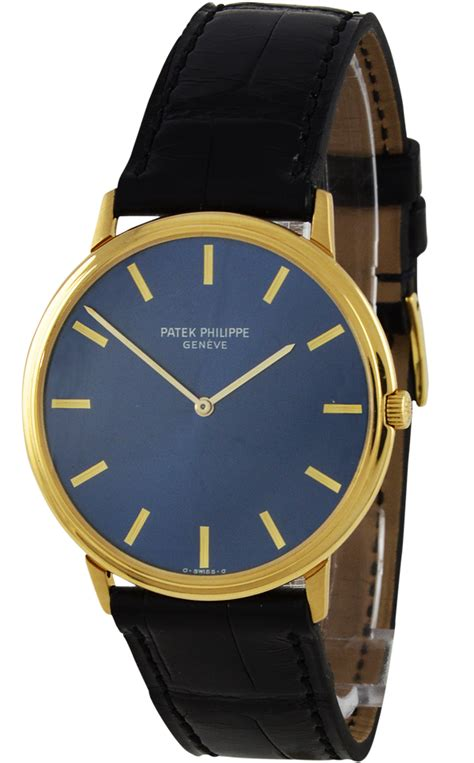 Patek Philippe G488 Leather Brrg patek philippe preowned luxury watches