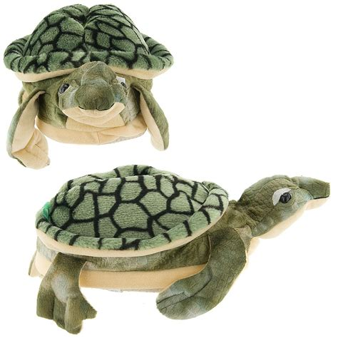 sea turtle slippers happy animal slippers sea turtle size small new