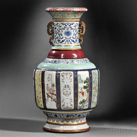 an antique urn with more elaborate designs and porcelain vase sets us auction record chinadaily cn
