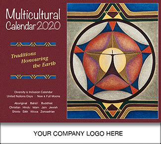 wall multicultural calendar diversity calendar multifaith calendar