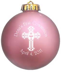First Communion Christmas Ornament First Communion Ornaments Communion Favors Holy Communion Ideas