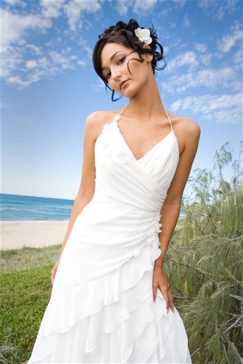 wedding dress design casual beach wedding dress