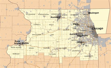 Search Niu Map Of Northern Illinois My