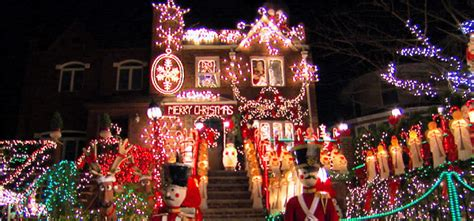 best christmas home decorations in brooklyn what s with that decked out house television review the new york times