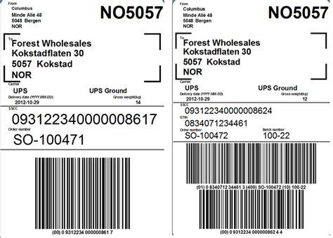 pallet label template ax2012 gs1 128 delivery labels kurt hatlevik dynamics