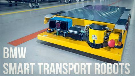 bmw factory robots bmw smart transport robots