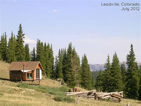 colorado small house tiny house in a landscape