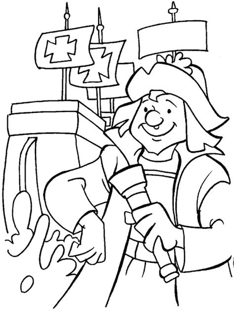 Columbus Day Coloring Pages 10 Coloring Kids Imagenes De Columbus Day For Coloring
