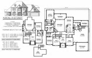 5 bedroom 2 story house plans 5 bedroom to estate under 4500 sq ft
