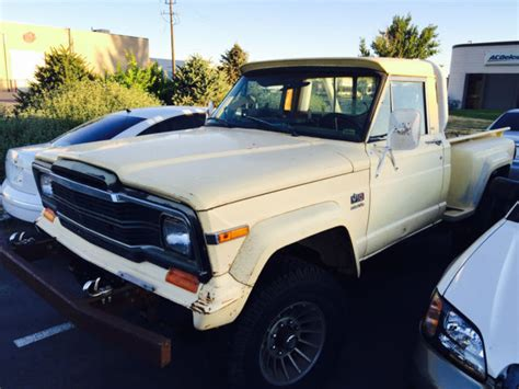 jeep honcho stepside jeep j20 honcho 1980 stepside sport for sale in salt lake