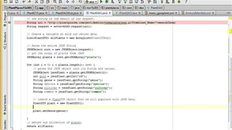 android json parsing json in android studio
