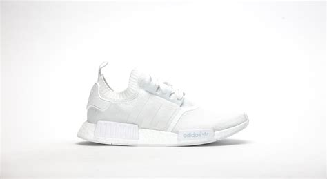 Adidas Nmr Runner adidas nmd r1 boost runner primeknit quot vintage white quot weiss