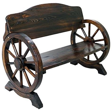 wagon wheel garden bench ean 5055493830776 mod crtbn solid wood cart wagon wheel
