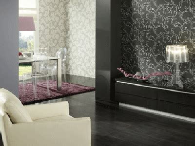 Living Room Wallpaper Ideas White Black by Modern Interior Decorating Black Plus Another Color