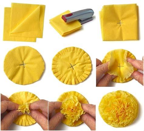 How To Make A Sun Out Of Paper - membuat bunga dari kertas sarah nurjanah